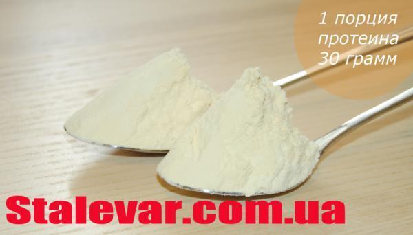 Столовая ложка протеина
