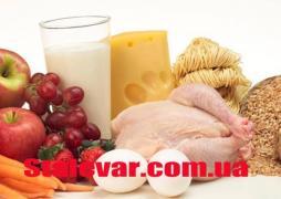 Аминокислоты в продуктах питания таблица